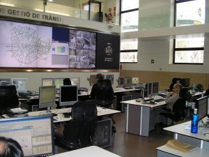Vista del interior del Centro de Gestión de Tráfico/vlcciudad
