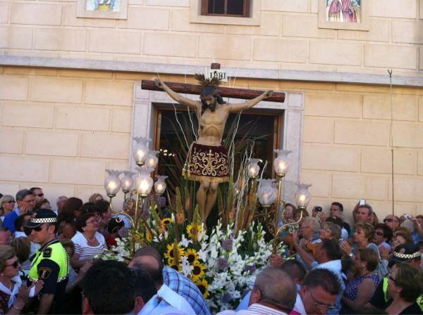 El Cristo de la Salud de El Palmar ya va camino de La Albufera/@arturpart