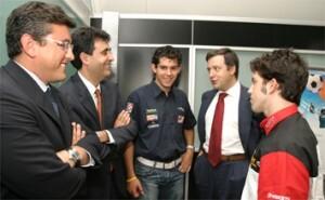 El edil de Deportes, Cristóbal Grau, en el Día del Deporte que tuvo lugar en Cacsa