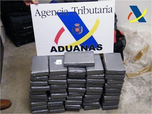 Vigilancia Aduanera ha decomisado 51 kilos de cocaína que sumados a los de otras operaciones de este verano son ya 400/agencia tributaria