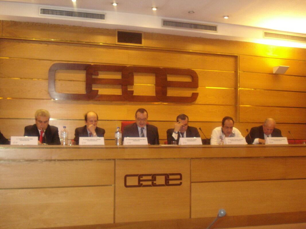 Reunión del colectivo de Fasyde en Madrid hace pocas semanas con motivo de la subida del IVA/fotur