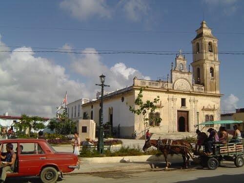 parroquia de Parroquia de Nuestra Señora de la Caridad en la localidad cubana de Sancti Spíritus