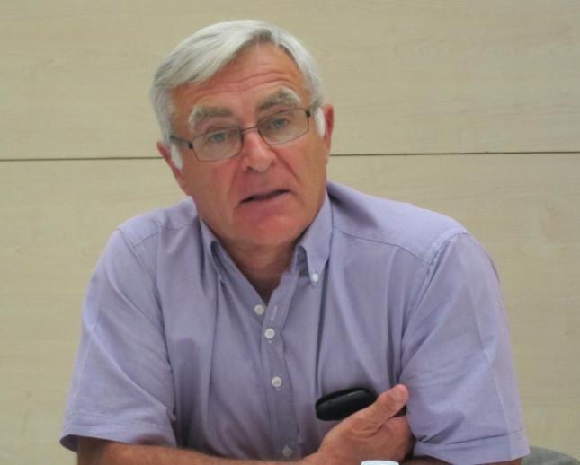 El portavoz de Compromís, Joan Ribó.