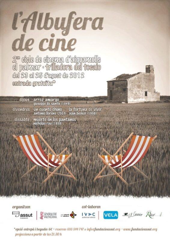 Cartel de la II edición de La Albufera de Cine/fund. assut