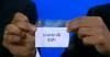 La papeleta con el nombre del Levante U.D. en el sorteo de hoy en Montecarlo de la Europa League
