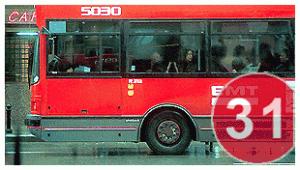 Bus de la EMT de Valencia