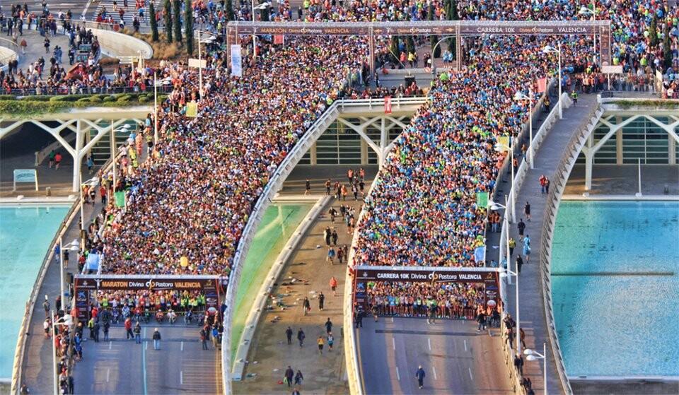 Vista general de la salida de la maratón Divina Pastora el año pasado/http://ro2personaltrainer.blogspot.com.es