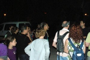 Varios asistentes a los actos del año pasado/cuadernomurcielagos.blogspot.com