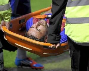 Los servicios del club escocés retiran a Nikos Karampelas/j.a. sanz-marca