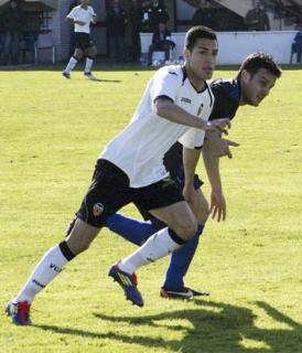 Un jugador del Mestalla en un encuentro del Mestalla/nostresport