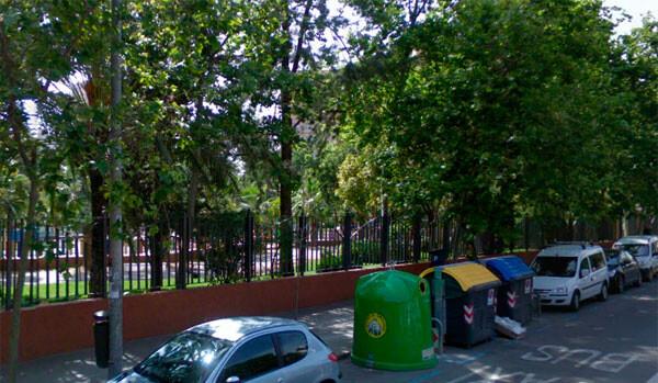 Parque de la calle Ricardo Micó, de Valencia