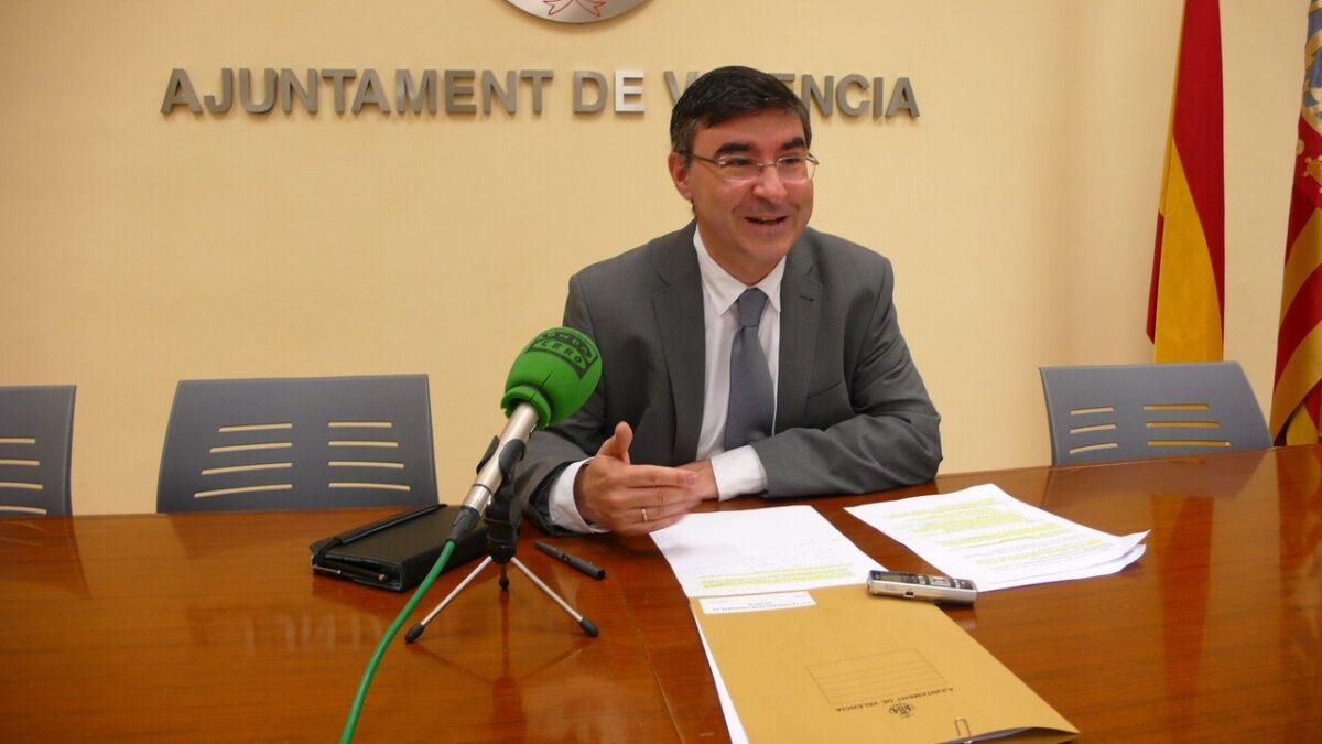 El concejal socialista Pedro Miguel Sánchez/pspv