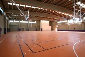 Interior de las pistas de baloncesto/cmd ingenieros