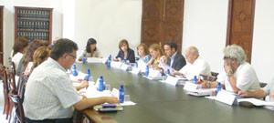 El consejo de centros de valencianos en el exterior en la reunión de julio/gva