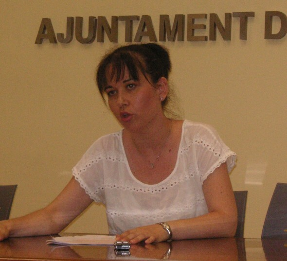 La concejala de Esquerra Unida, Rosa Albert/eupv