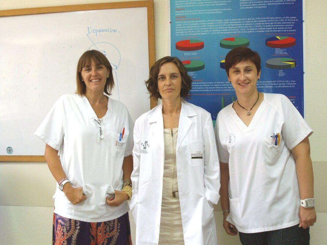 Las responsables de la UCA del departamento de Salud del Grao/gva