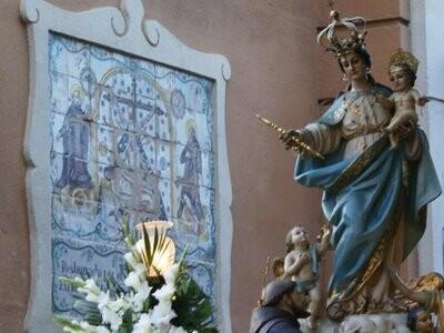 Imagen de la Virgen de los Angeles/eos