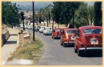 Una fila de 600 durante una concentración que tuvo lugar en Xàtiva hace unos años