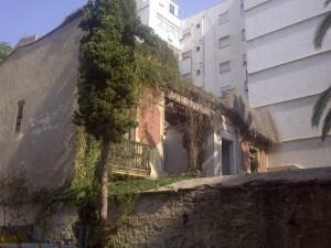 Edificio de Aben Al Abbar donde se realizaban obras hace pocas semanas/vlcciudad