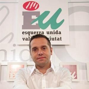 El edil y coordinador de Esquerra Unida, Amadeu Sanchis