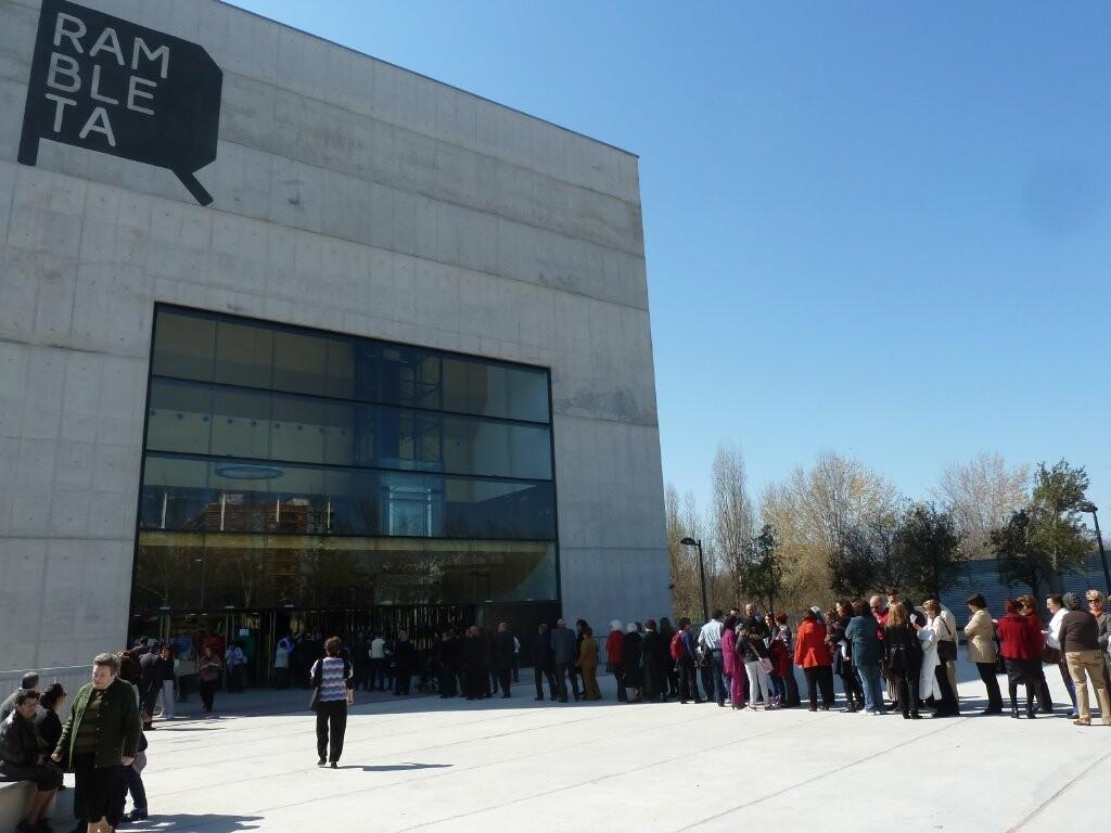 Concert inaugural de la Unió Musical de L´Horta en marzo de éste año/Assoc.de V.V. barri Sant Marcel·lí