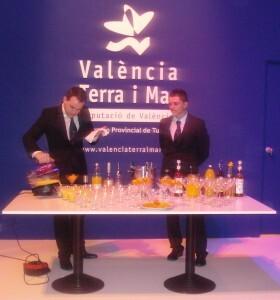 A la derecha, el valenciano Hilario Fombuena/