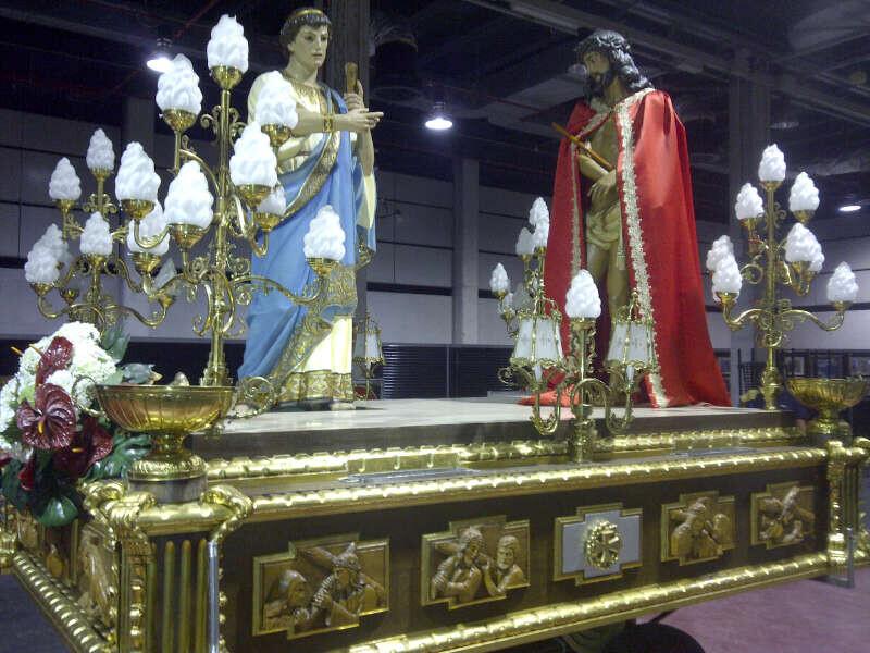 El paso del Ecce-Homo del Cabanyal es un de los cinco de la Semana Santa Marinera que estará en Feria Diké/vlcciudad