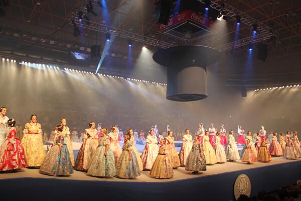 Las candidatas a Cortes de Honor 2013 en la Fonteta