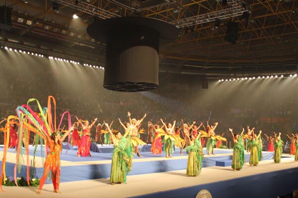 El espectáculo en la Elección de las Cortes de Honor 2013