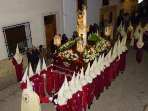Paso de Jesus amarrado a la Columna de Mota del Cuevo, Cuenca