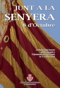 Cartel anunciador de la exposición de la Senyera/ayto vlc