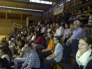 El público está respondiendo a los encuentros del equipo en el polideportivo del Cabanyal/vlcciudad