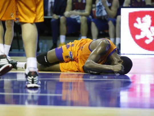 Valencia Basket Club. Kelati
