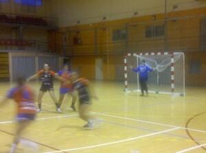 Las jugadoras realizaron un partido de entrenamiento con vistas a Castelldefels/vlcciudad