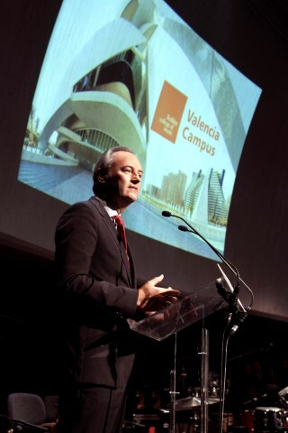 Valencia 17092012. Inauguración curso Berklee college
