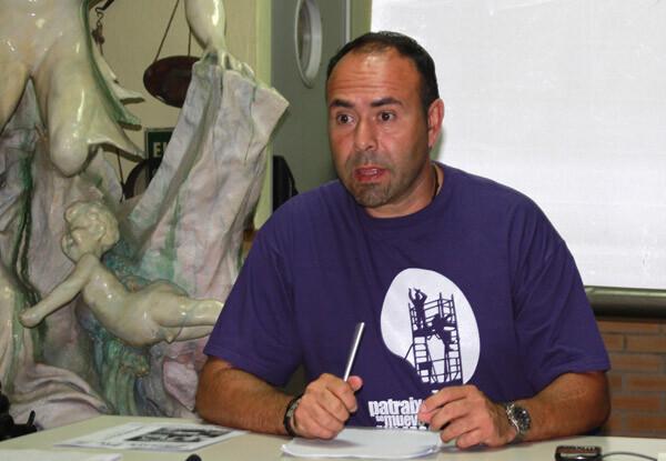 Toni Plà, presidente de la A.VV. de Patraix presenta la Galal Benéfica por Lorca del 7 de octubre