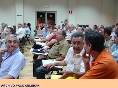 Una asamblea de la junta mayor celebrada hace unos años