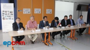 Un momento de la presentación con las distintas autoridades en  la sede de Avapace
