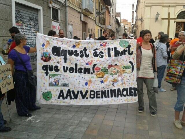 Los vecinos fueron protagonistas en una gran jornada festiva en Benimaclet/aavv benimaclet