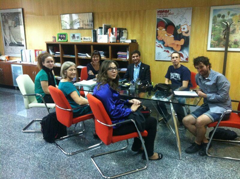 Reunión de Campus Jove en la Universitat de Valencia/cj