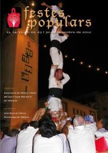 Cartel de las Fiestas de San Marcelino 2012/aa.vv.