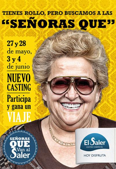 Campaña 'Señoras que' del Centro Comercial de El Saler, premiada por la AECC