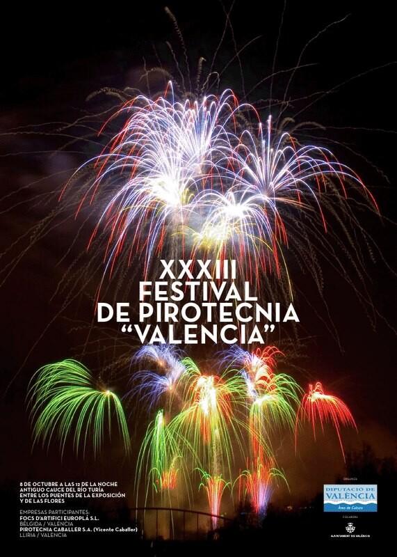 Cartel oficial del XXXIII Festival de Pirotecnia