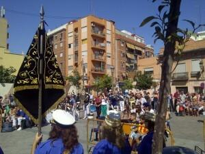 Aspecto de la plaza Virgen de Vallivana del Cabanyal durante el certamen/vlcciudad