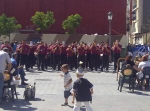 La banda de cornetas y tambores de la Hermandad de la Santa Cena de Torrent/vlcciudad