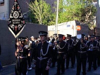 La banda de ccytt de la Crucifixión del Canyamelar toca mañana en Jérica