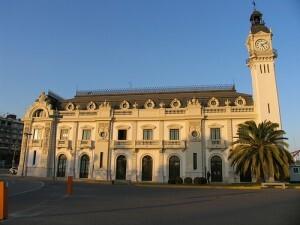 El edificio del reloj es la sede de las reuniones del consejo de la Autoridad Portuaria de Valencia
