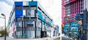 Aspecto de la fachada de la empresa Fermax sita en el bulevar sur a la altura de Patraix/u.p.
