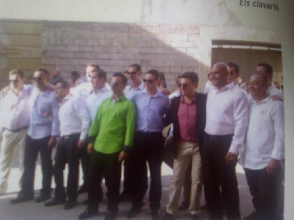 El grupo de festeros de El Oliveral/vlcciudad