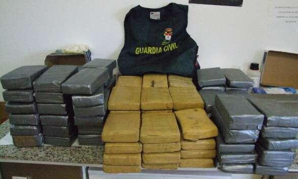 Decomiso de la Guardia Civil en otra operación en el puerto de Valencia/gc